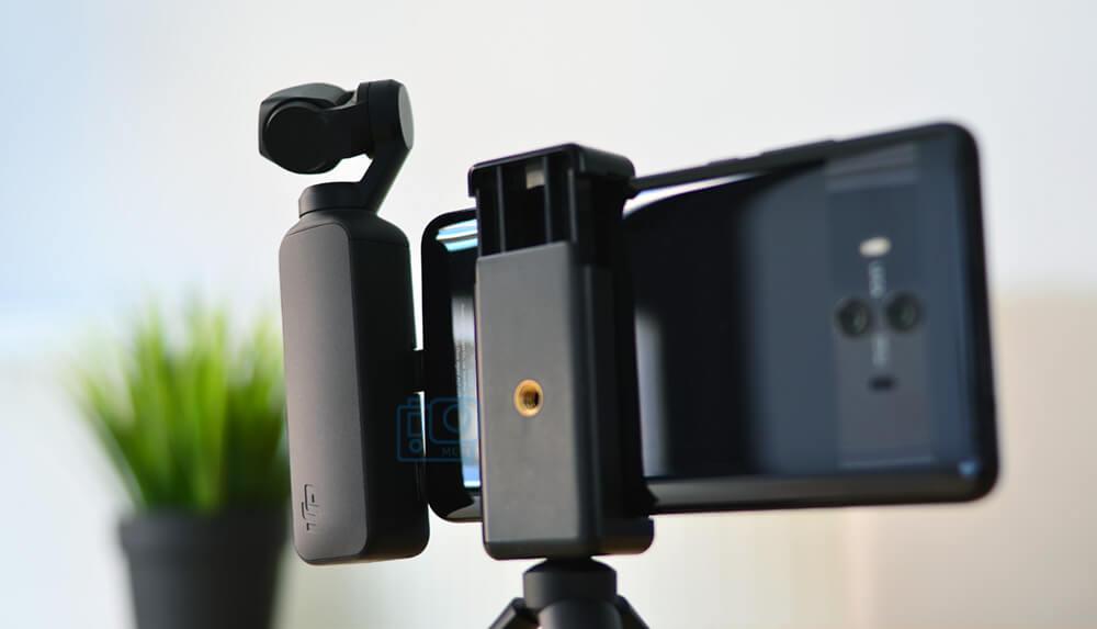 como conectar dji osmo pocket a smartphone android