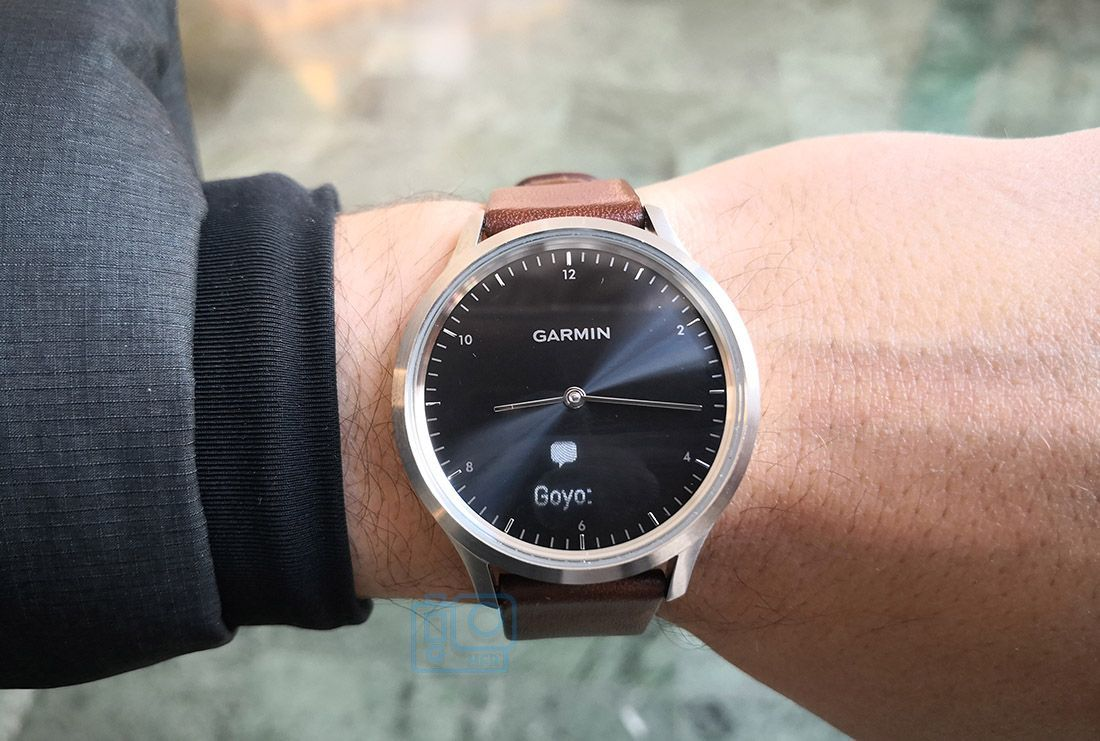whatsapp garmin vivomove hr