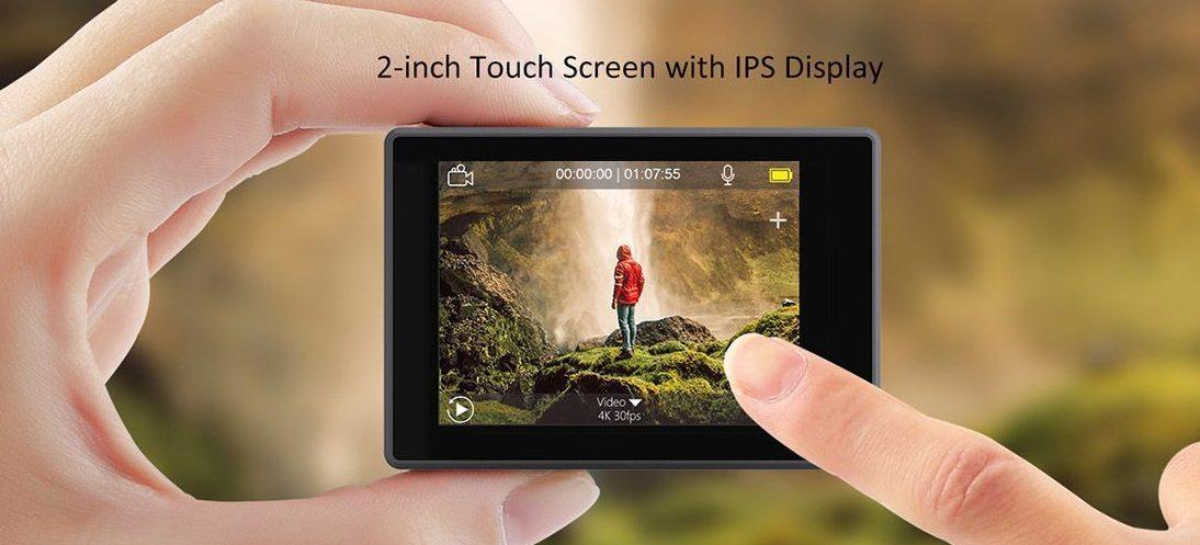 pantalla tactil akaso v50 elite