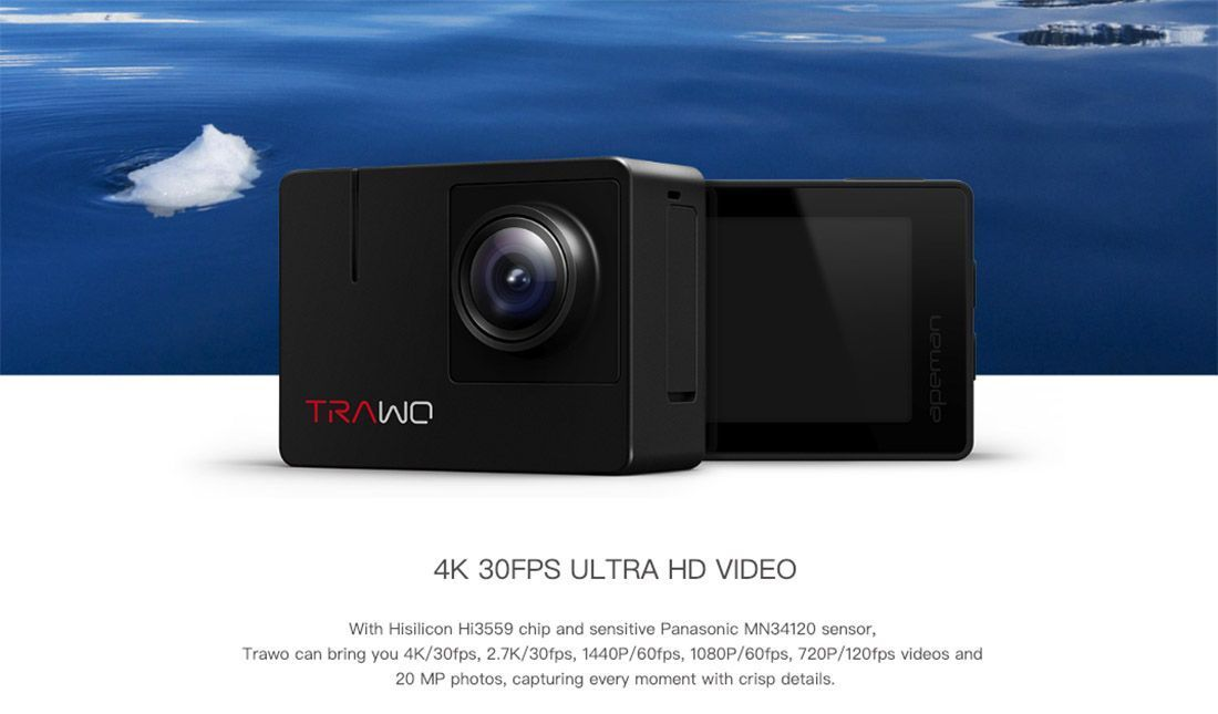 apeman trawo 4k action camera review