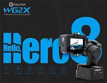 estabilizador wg2x compatible con gopro hero 8