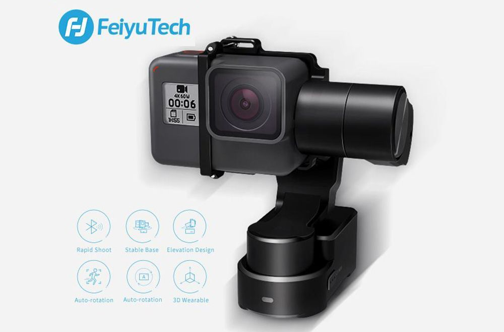 feiyu wg2x gimbal wearable