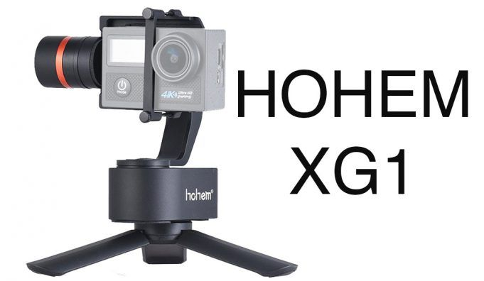 hohem tech xg1 gimbal review
