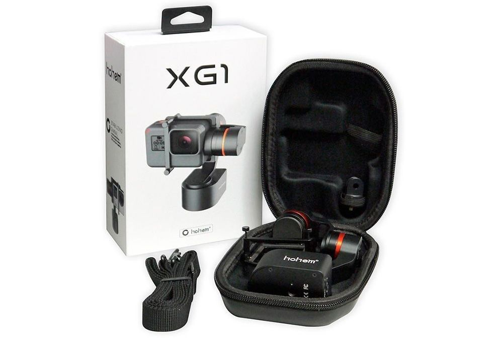unboxing hohem xg1 wearable gimbal