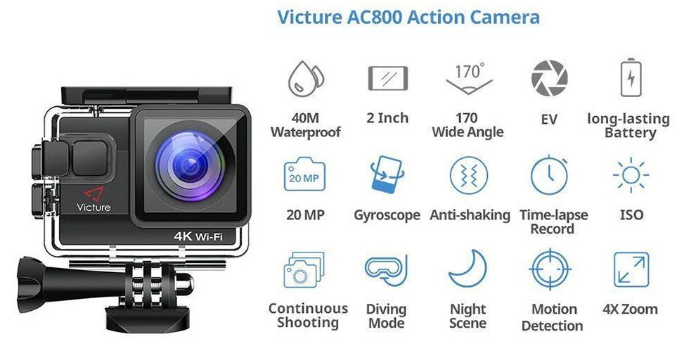 video 4k Victure AC 800