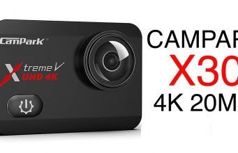 campark x30 review 4k action camera