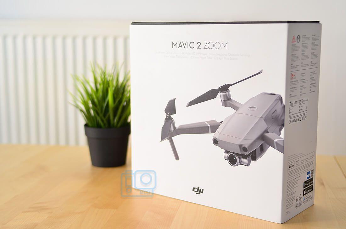caja Dron Mavic 2 zoom