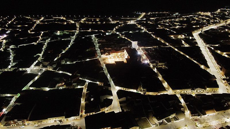 foto nocturna dji Mavic 2 zoom