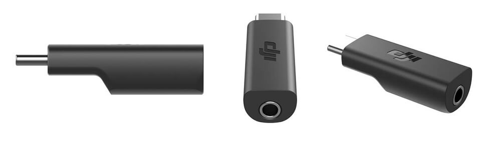 adaptador 3,5mm Jack para dji osmo pocket