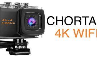 chortau 4k action camera review