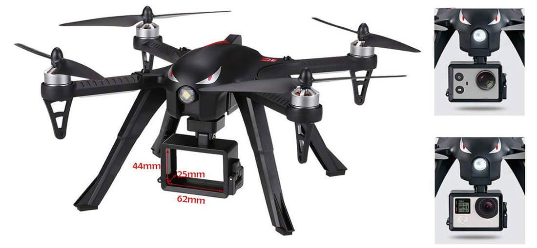mejor drone para gopro