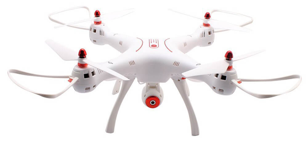 dron para action camera