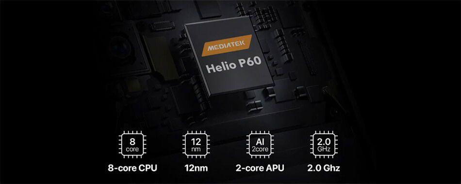 procesador helio p60 umidigi f1