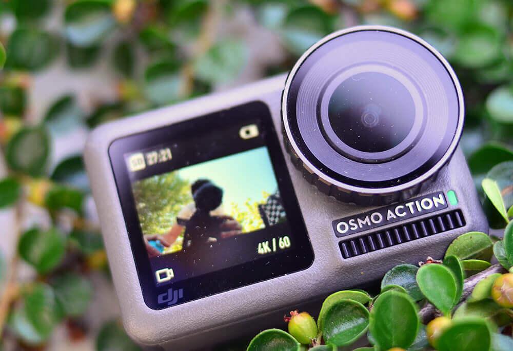 pantalla selfie dji osmo action