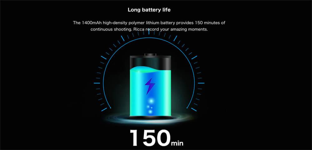 bateria feiyu ricca 1400 mAh