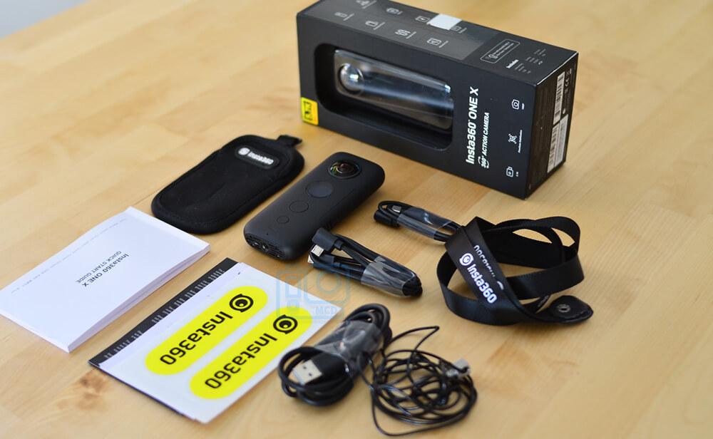 accesorios incluidos insta360 one x
