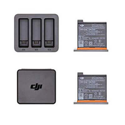 pack cargador bateria dji osmo action cam