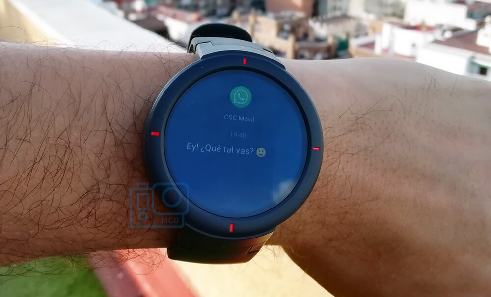amazfit verge whatsapp