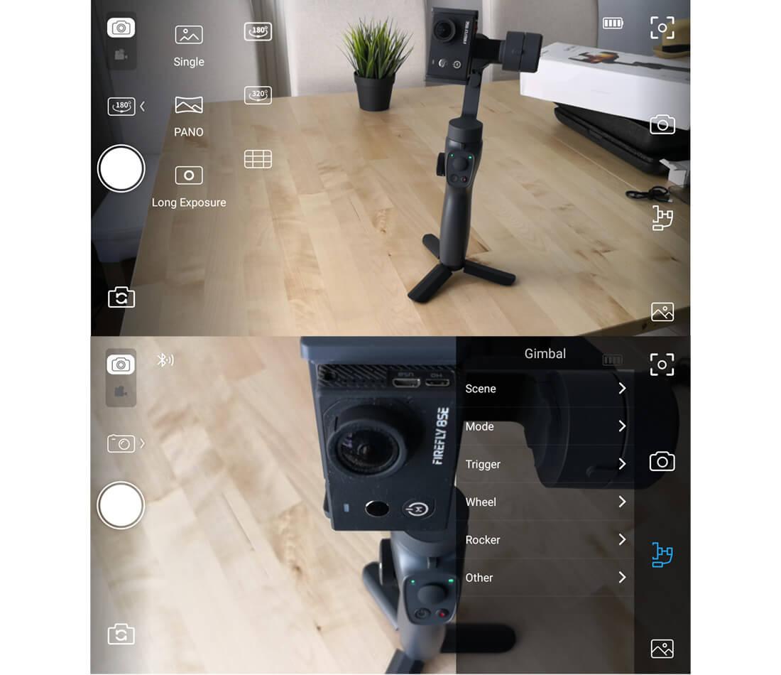 app para gimbal capture 2