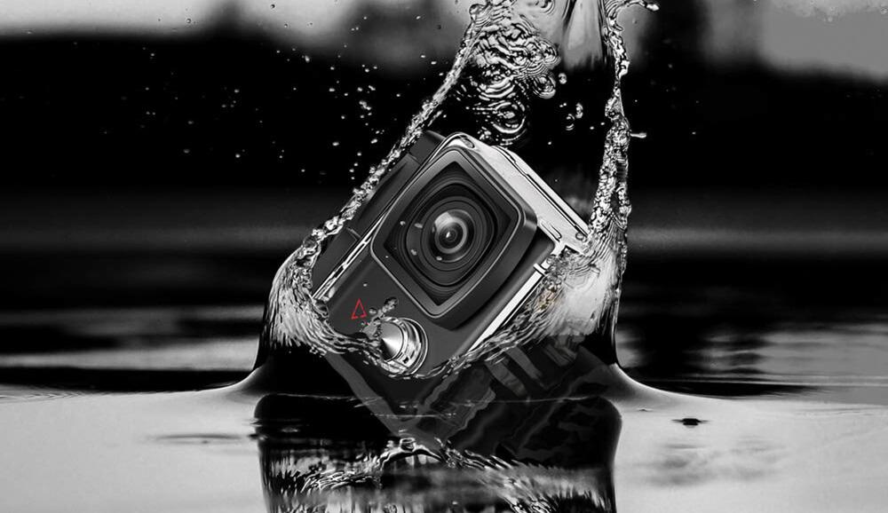 diseño action camera victure ac900