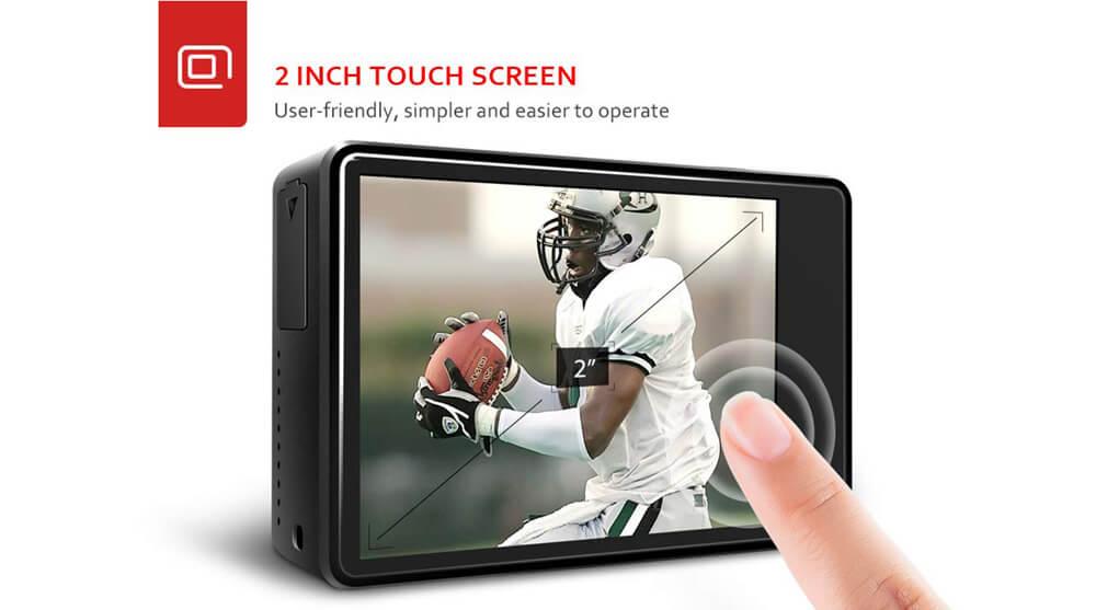 pantalla tactil 2 pulgadas ac900 victure