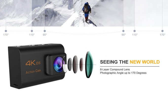 nine cube action camera review analisis