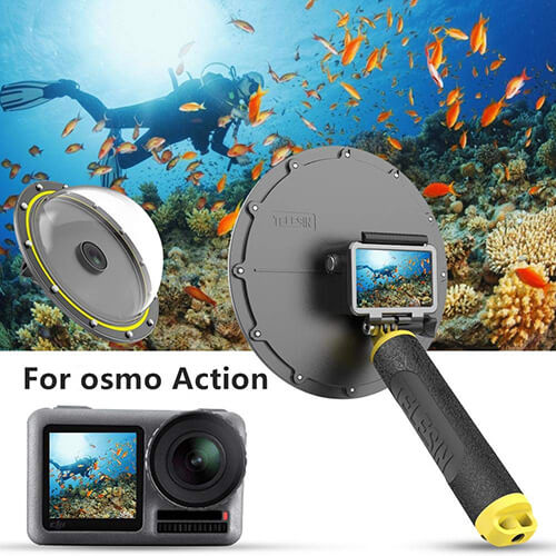 cupula dji osmo action camera