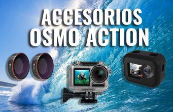 mejores accesorios dji osmo action camera