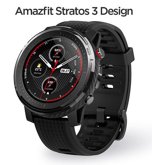 review reloj deportivo xiaomi Huami Amazfit Stratos 3