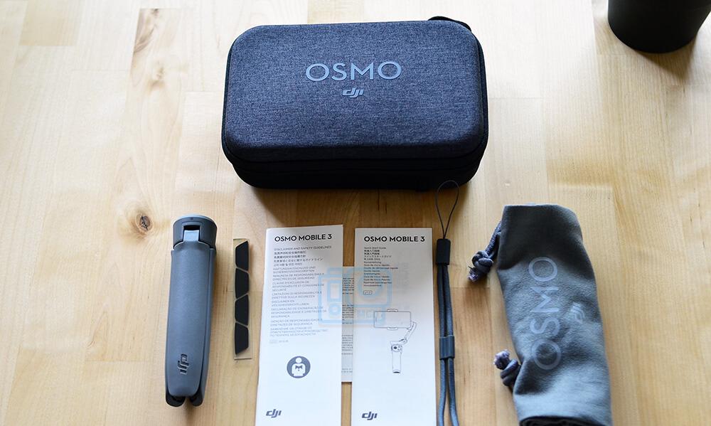 accesorios gimbal osmo mobile 3
