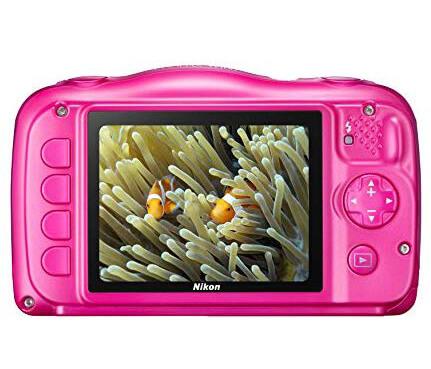 pantalla camara subacuatica coolpix w100 de nikon