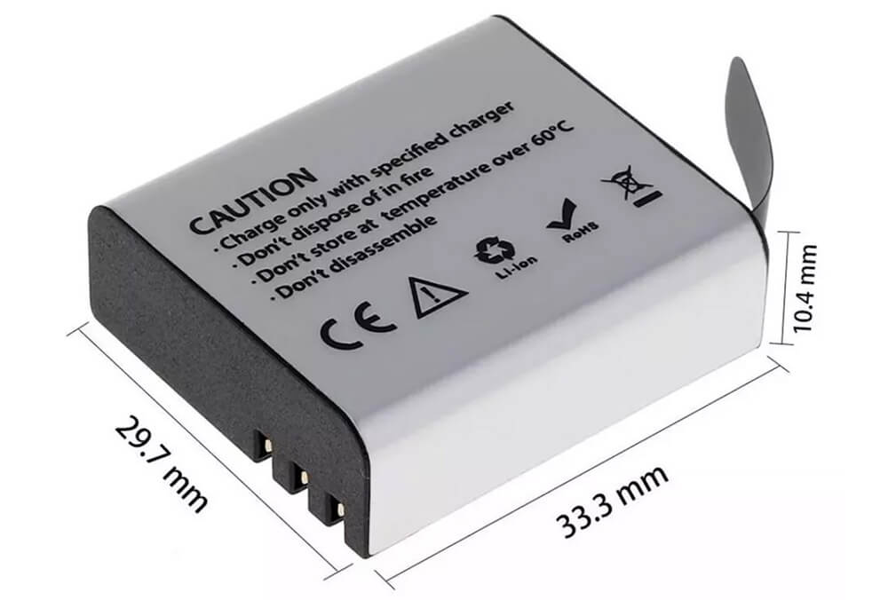 bateria camaras digitales acuaticas