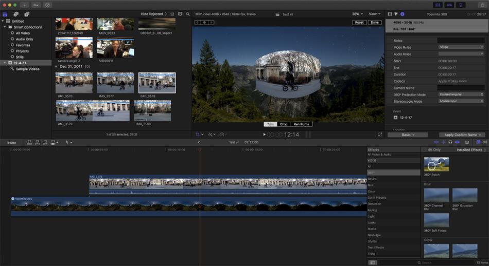editar videos de drones en mac y windows
