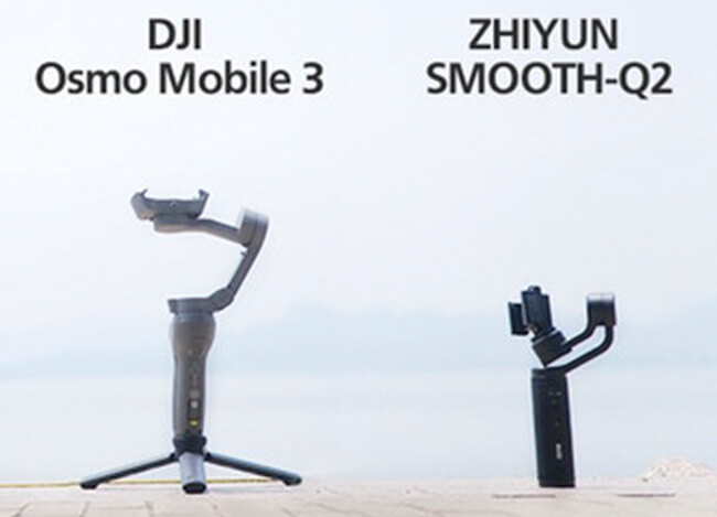 zhiyun smooth q2 vs dji osmo mobile 3