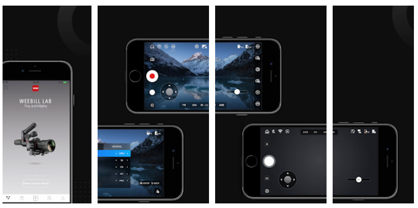 zhiyun smooth q2 app para android y iphone