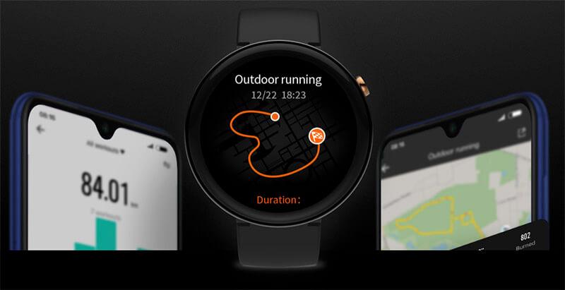 bateria y autonomia Xiaomi Amazfit nexo
