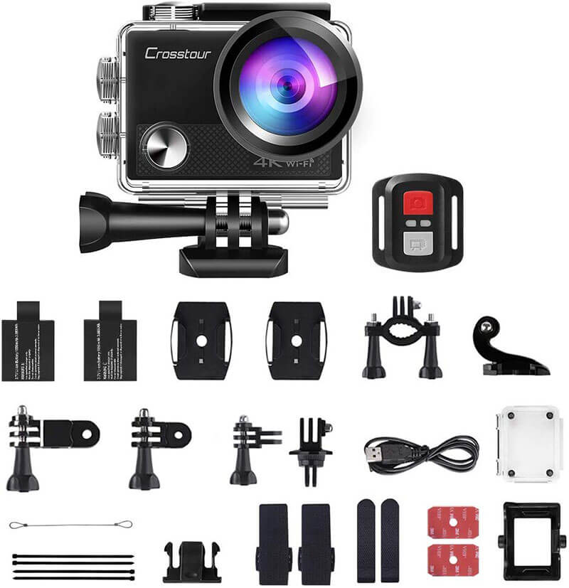 crosstour action camera ct9000 review