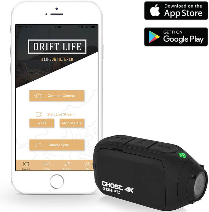 drift ghost 4k app android ios