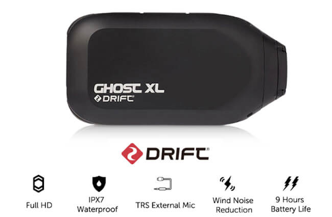 drift ghost xl hd action camera