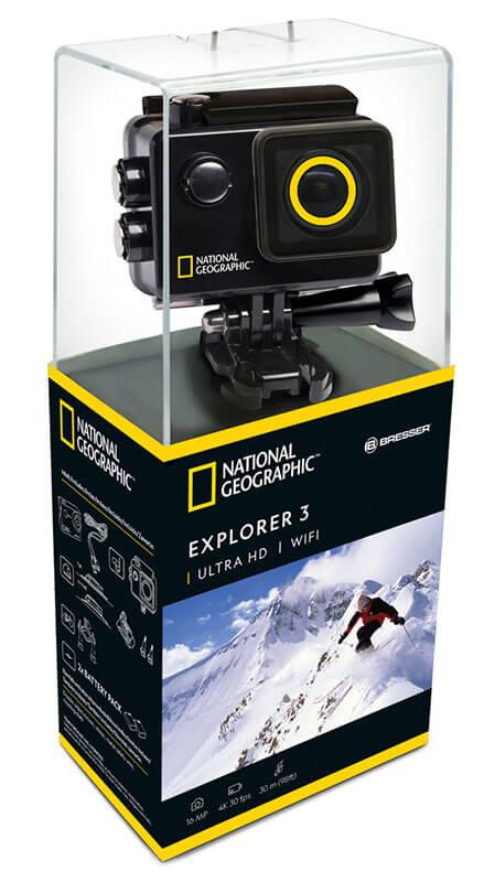 merece la pena comprar national geographic 4k action camera explorer 3