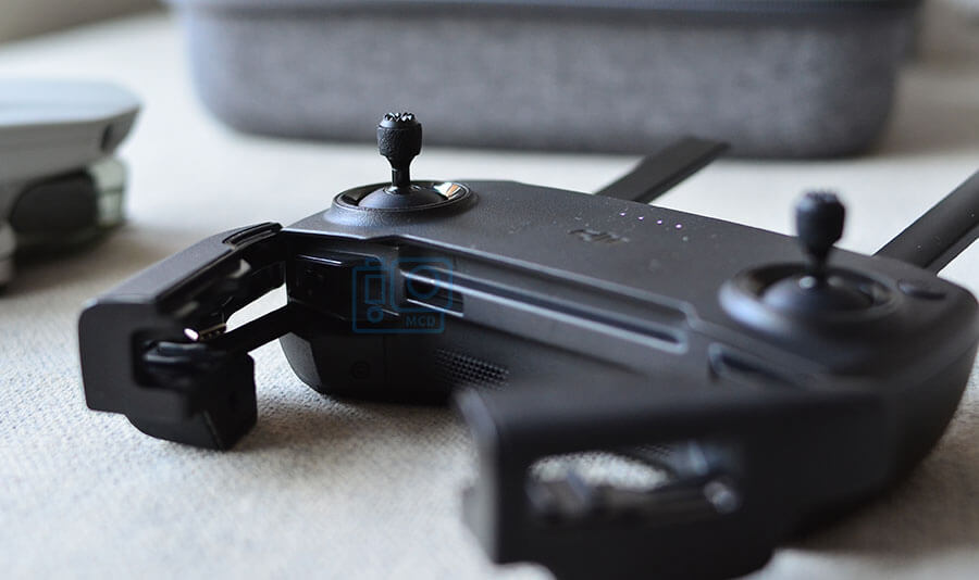 palancas control plastico en dron dji mavic mini