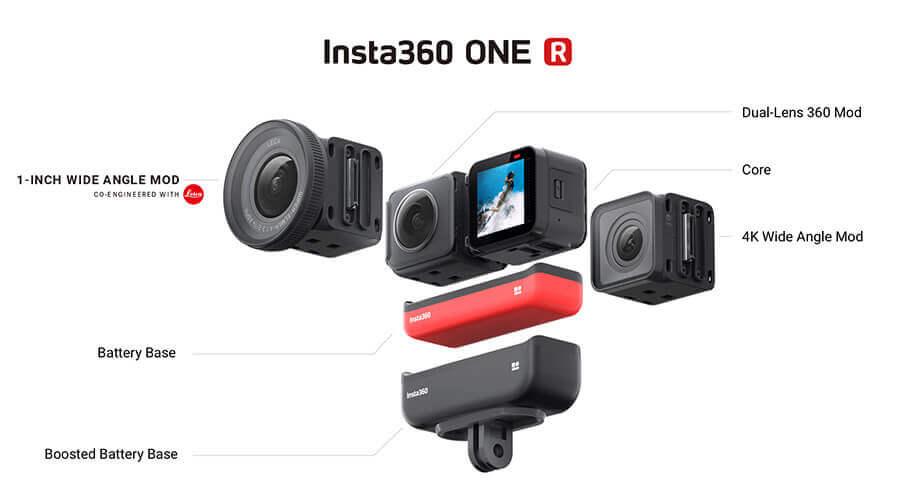 modulos insta360 one r mejor precio