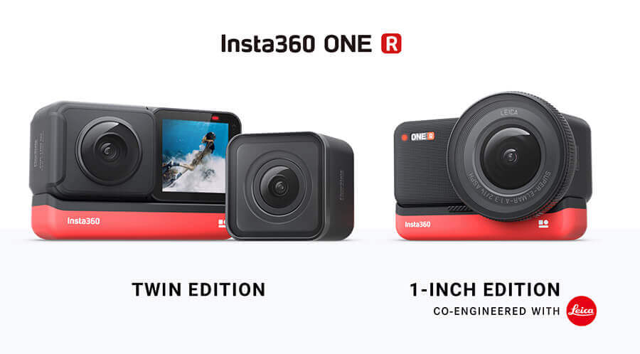 comprar pack twin edition insta360 one r