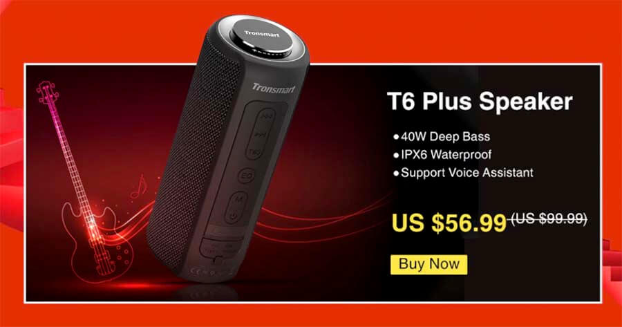 oferta altavoz bluetooth t6 plus