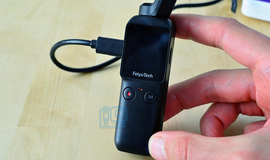 que capacidad tiene bateria feiyu pocket