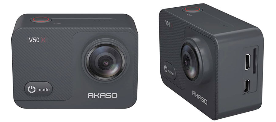 akaso v50x action camera review analisis en español