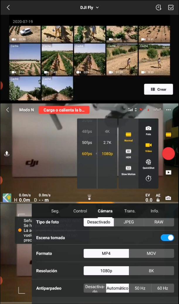 app android dji mavic air 2