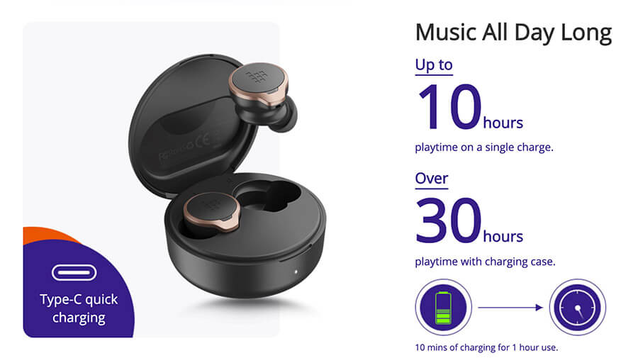 earbuds tronsmart apollo bold