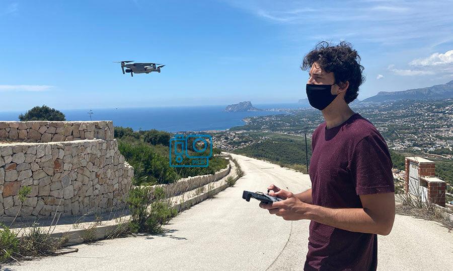 modos automaticos vuelo dron mavic air 2