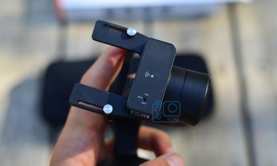 conectividad wifi bluetooth gimbal hohem isteady pro 3